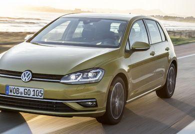Teuer wie der gleichnamige Sport: Der VW Golf punktet als kompaktes Fahrzeug für Fans der Marke zu einem hohen Einstiegspreis.