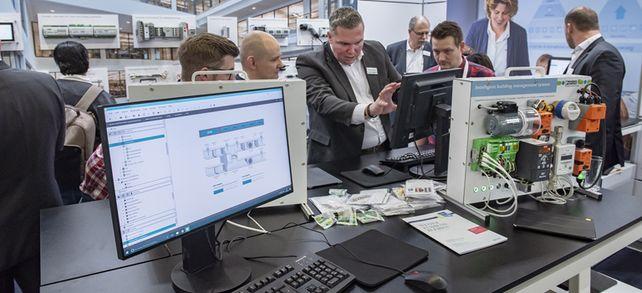 Fachmesse ISH: Für Anwendungen in der Gebäudeautomation liefert Enocean Sensoren.