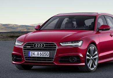 Komfortable Mobilität: Der Audi A6 Avant wartet mit neutralem, aber hochwertigem Design auf.