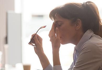 Psychische Belastung: Unter der Corona-Krise leiden vor allem Selbständige.