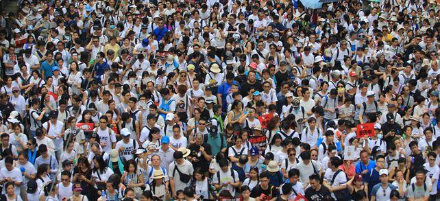 Kein Ende in Sicht: Seit Monaten protestieren regelmäßig Zehntausende in Hongkong gegen die Politik.