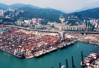 Chinas Exporte ziehen wieder an.