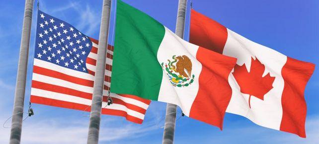 Dreierbündnis reloaded: Die USA, Kanada und Mexiko bleiben in einem Freihandelsbündnis vereint. Nur trägt dieses jetzt einen neuen Namen: USMCA statt Nafta.