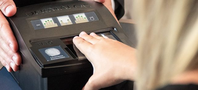 Fingerabdruckscanner: Produkte von Dermalog sind eher in Nischenmärkten bekannt.