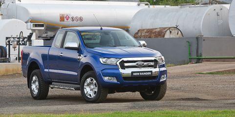 Der Ford Ranger poltert im Geschäftswagen-Check robust durch Stadt, Land und Fluss. Der Preis für so viel Abenteuerflair liegt allerdings bereits im Bereich der Oberklasse.