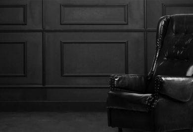 Mein rechter, schwarzer Stuhl ist leer: Wenn der Chef seinen Sessel verlässt, will er seine Firma in guten Nachfolgerhänden wissen.