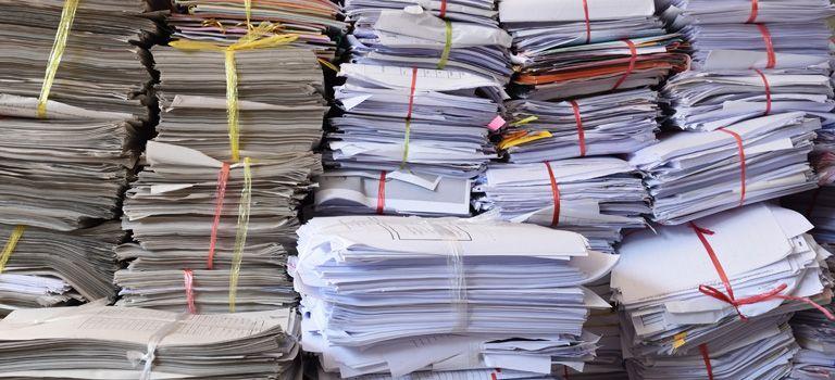So viel Papier: Unternehmer klagen sehr häufig über überbordende Bürokratie. Zu Recht?