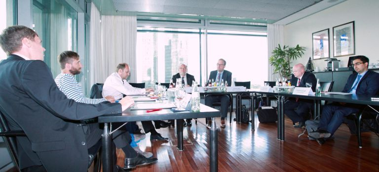 """Wie Unternehmen mit Software wertschöpfend arbeiten, war das Thema der von """"Markt und Mittelstand"""" veranstalteten Gesprächsrunde zwischen Herstellern und Geschäftskunden. Bildquelle für alle Fotos: Andreas Varnhorn"""