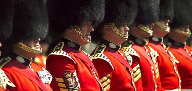 Einsam gemeinsam: die Royal Guard nach dem Brexit