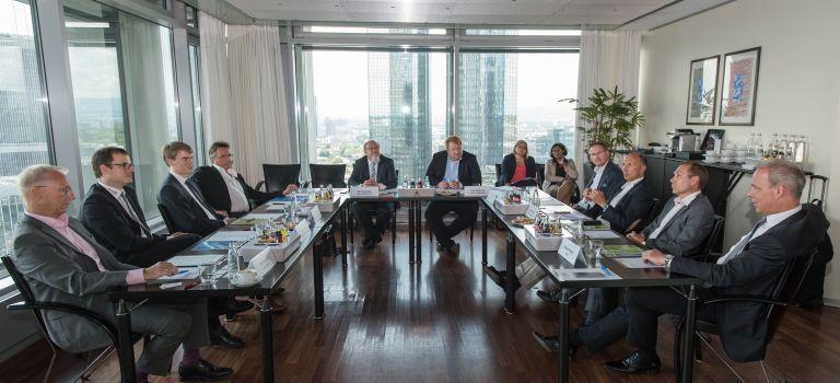 """Bei der IT-Allianz von """"Markt und Mittelstand"""" diskutierten Unternehmer und IT-Anbieter über die Bedeutung der Digitalisierung für Mittelständler."""