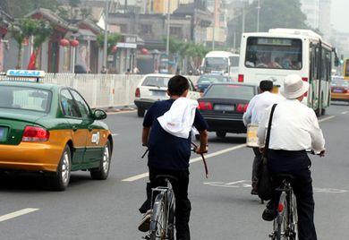 Gegen den Smog: Mit stärkerer Automatisierung und Industrie wachsen auch die Umweltbedenken. China investiert deswegen in Umwelttechnologien.