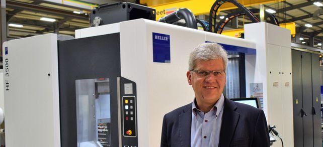 Zum Handeln gezwungen: Matthias Meyer, Geschäftsführer von Heller Machine Tools, der britischen Tochter des Werkzeugmaschinenbauers Gebr. Heller Maschinenfabrik, muss wegen des Brexits Arbeitsprozesse umstrukturieren.