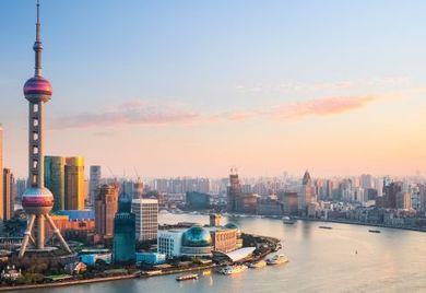 Big business: Die chinesische Handelsmetropole Shanghai