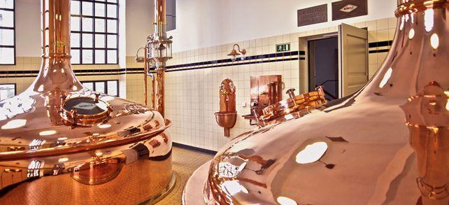 International gefragt: In über sechzig Länder hat der Brauereizulieferer Kaspar Schulz bereits Anlagen verkauft – wie hier an eine Brauerei im österreichischen Salzburg.