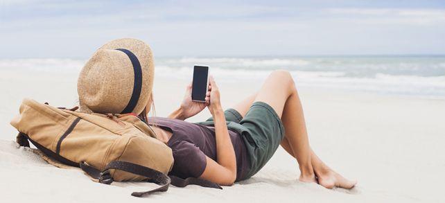 Always on: Warum Arbeitnehmer auch im Urlaub Mails lesen.