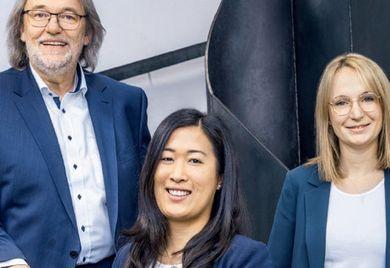 Unternehmerfamilie (v.l.n.r.): Geschäftsführer Hermann Graef, Johanna und Franziska Graef
