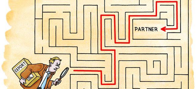 Keine leichte Aufgabe: Wie Unternehmen Vertriebspartner im Ausland finden.