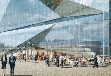 "Smart Building in Berlin: ""Cube"" soll das intelligenteste Gebäude in Europa werden."