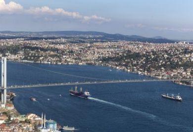 Türkei, Istanbul, Brücke