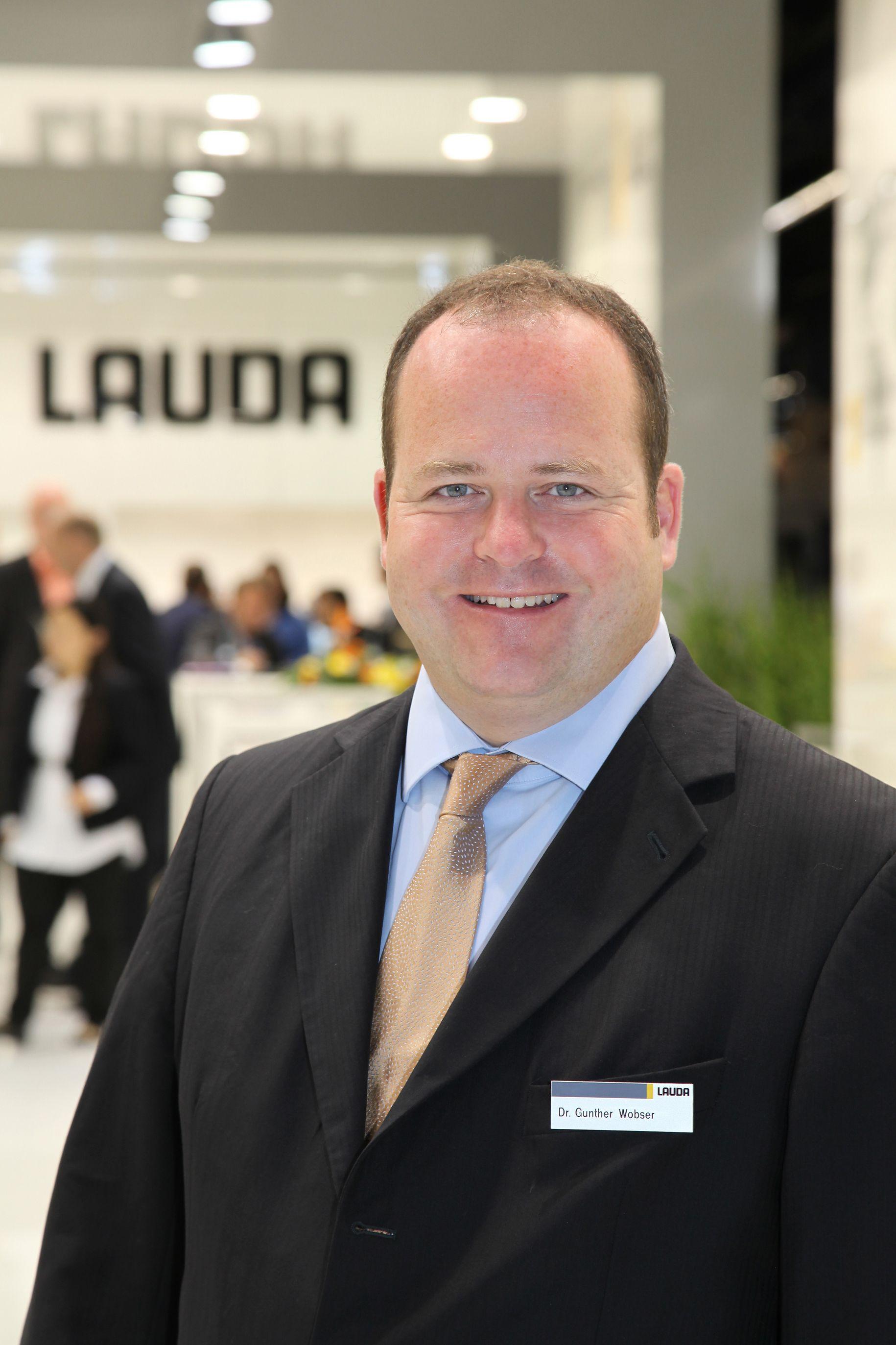 Dr. Gunther Wobser, Geschäftsführender Gesellschafter LAUDA DR. R. WOBSER GMBH & CO. KG