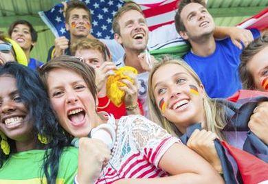 Die WM-Begeisterung macht auch vor deutschen Büros nicht halt.