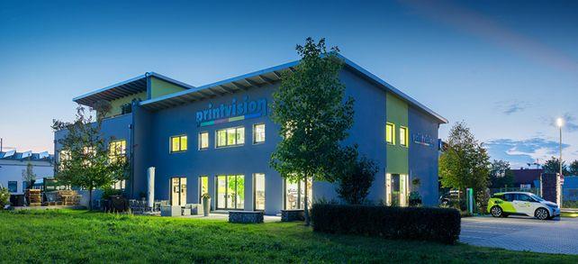 Wo einst die Server standen: Zentrale von Printvision in Freising bei München.