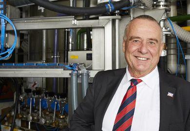 Liqui-Moly-Geschäftsführer Ernst Prost: Am Personal darf nicht gespart werden.