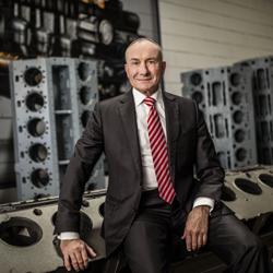 Hans-Jürgen Brenninger ist Vorstandsvorsitzender der Eisengießereigruppe Gienanth.