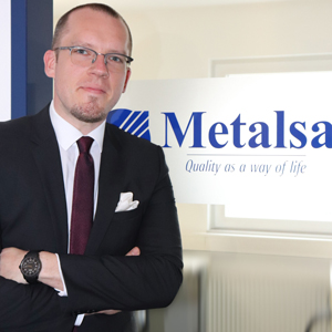 Yannick Lamsfuß ist Buyer Direct Components beim Automobilzulieferer Metalsa.