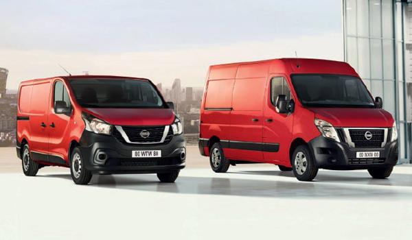 Nissan N300 und 400: Das Transporter-Duo erhielt eine Modellpflege, die sich vor allem auf die Umweltverträglichkeit auswirkt. Die Dieselmotoren sind mit der Abgasnorm Euro 6d-Temp unterwegs und leisten zwischen 95 und 170 PS. Der NV 300 schafft 1,2 Tonnen Nutzlast, der NV 400 trägt 2,1 Tonnen.