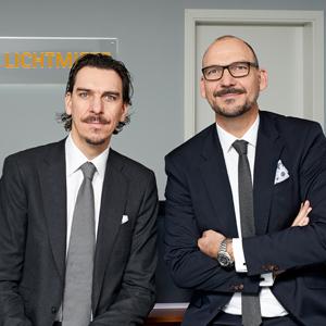 Alexander (links) und Marco Hahn sind Mitglieder der Geschäftsleitung der Deutschen Lichtmiete.