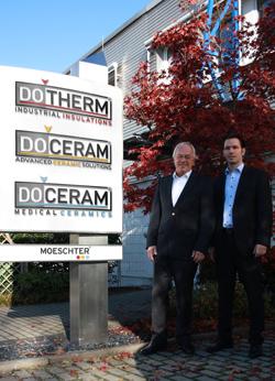 Unternehmensgründer Jürgen Möschter (l.) und Stefan Veltum, Geschäftsführer der Moeschter Group