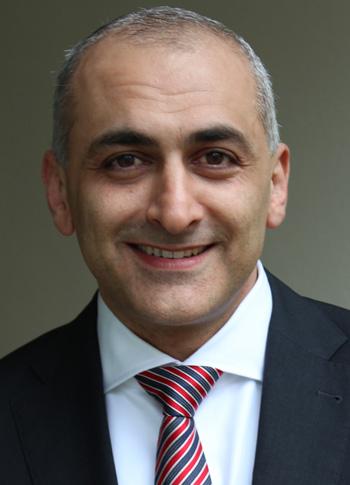 Kaveh Taghizadeh ist Leiter des Iran-Geschäfts von KPMG in Deutschland