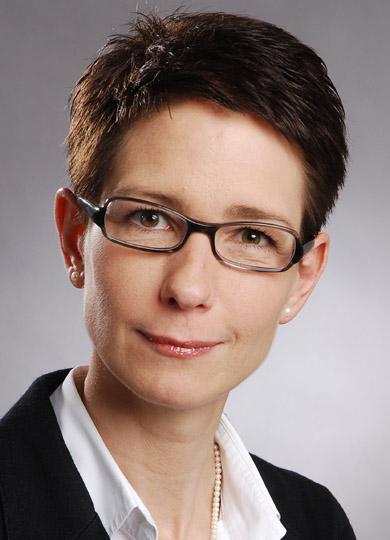 Christine Rademacher von der Commerzbank
