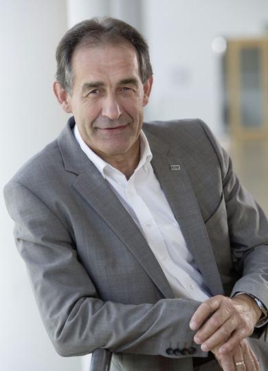 Bernhard Helbing, Geschäftsführer des Fenster- und Türenherstellers TMP.