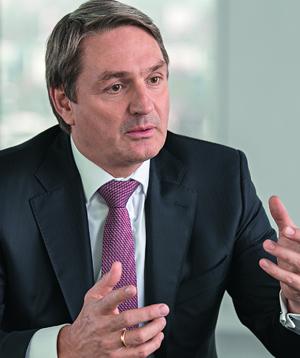 Stefan Bender, Leiter Firmenkundengeschäft bei der Deutschen Bank